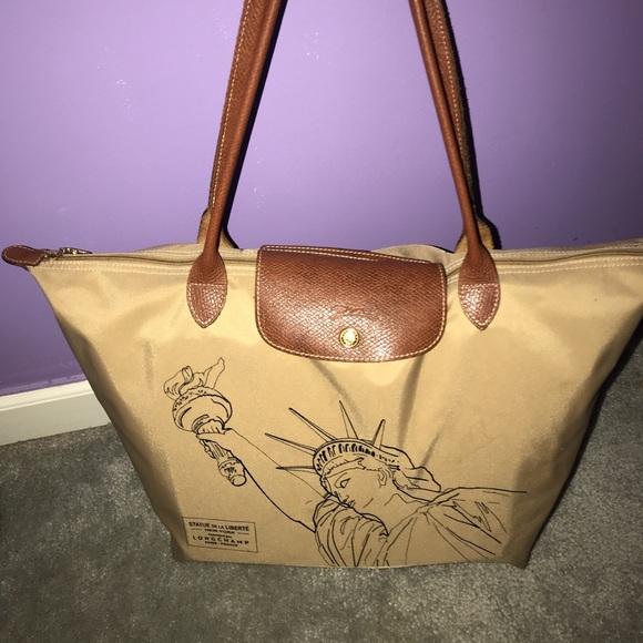 4b6a2bb79435 Longchamp Handbags - Longchamp  Large Le Pliage Limited Edition
